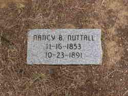Nancy Belle <i>Brasheer</i> Nuttall