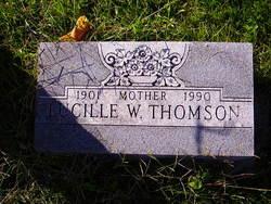 Lucille Nana <i>Vodopivec Waters</i> Thomson