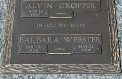 Barbara Angela <i>Webster</i> Warnick