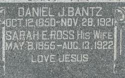 Sarah E. <i>Ross</i> Bantz