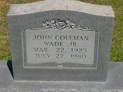John Coleman Wade, Jr