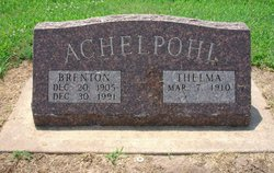 Brenton William Achelpohl