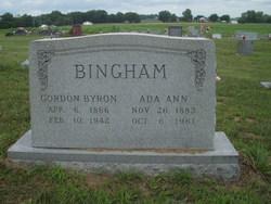 Ada Ann <i>McClure</i> Bingham