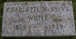 Charlotte <i>McKelvy</i> White