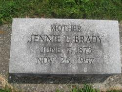 Jennie Elizabeth <i>Fidler</i> Brady