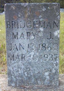 Mary Jane <i>Stephens</i> Bridgeman