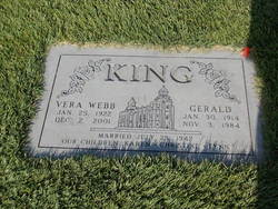 Vera <i>Webb</i> King