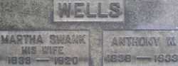 Martha <i>Swank</i> Wells