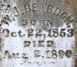 William J Beardon
