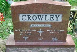 Dr William Francis Crowley