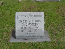 Sadie M. <i>Redus</i> Duckworth