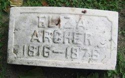 Eliza Archer
