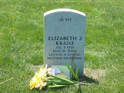 Elizabeth J <i>Thomas</i> Kranz