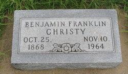 Benjamin Franklin Christy