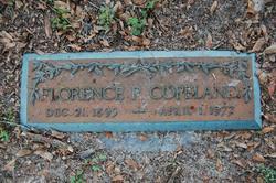 Florence <i>Padgett</i> Copeland