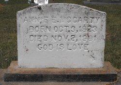 Annie E. McCarty