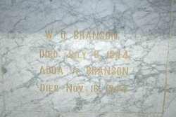 Adda A. <i>Owen</i> Branson