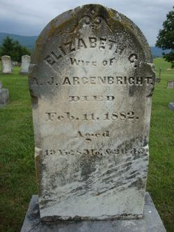 Elizabeth Catherine <i>Stockdale</i> Argenbright