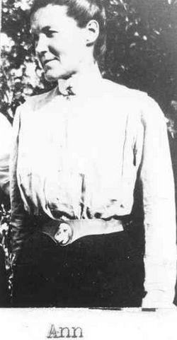 Jerusha Ann <i>McAlister</i> Huffman
