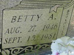 Betty A. Atkinson