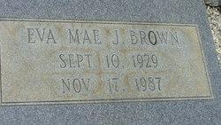 Eva Mae <i>Jones</i> Brown