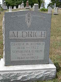 Sophronia Eliza <i>Hardy</i> Aldrich