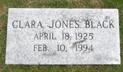 Clara <i>Jones</i> Black
