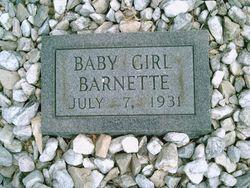 Baby Girl Barnette
