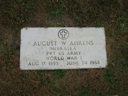 August William Ahrens