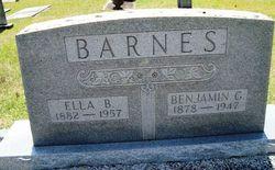 Benjamin Green Barnes, Jr