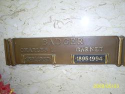 Garnet <i>Young</i> Badger