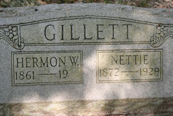 Nettie <i>Huff</i> Gillett