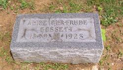 Alice Gertruce <i>Starner</i> Gossett