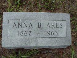 Anna Belle <i>Utz</i> Akes