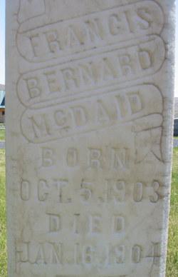 Francis Bernard McDaid