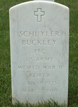 Schuyler Buckley