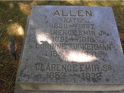 Clarence Emir Allen, Sr