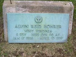 Alvin Reid Bohrer