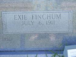 Exie Sevier <i>Finchum</i> Chaney
