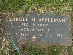 Carroll M Appleman