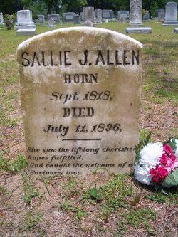 Sallie Jane <i>McEachern</i> Allen
