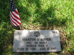 Martin B Asher