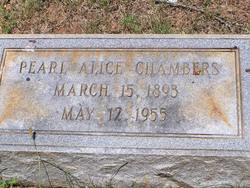 Pearl Alice <i>Waters</i> Chambers