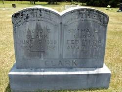 Sytha Elizabeth <i>Price</i> Clark