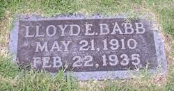 Lloyd E Babb