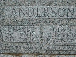 Florence Maxine <i>Heath</i> Anderson