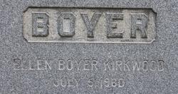 Ellen <i>Boyer</i> Kirkwood