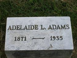 Adelaide L. Addie <i>Breighner</i> Adams