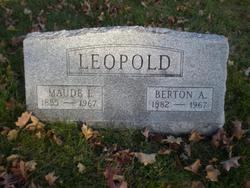 Maude <i>Isenhour</i> Leopold