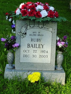 Ruby <i>Mosier</i> Bailey